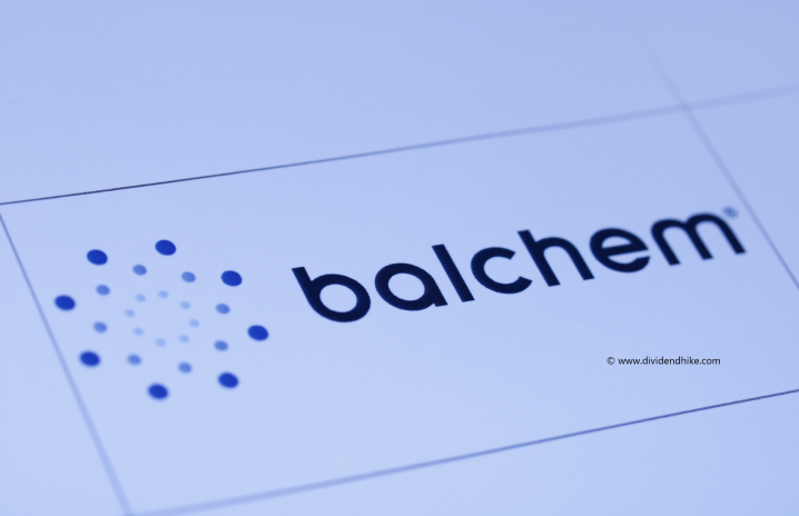Balchem pays just one dividend each year © DIVIDENDHIKE.COM