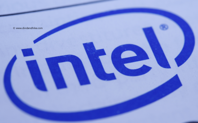 Intel has raised its dividend by 6.0% on average in the last five years © DIVIDENDHIKE.COM