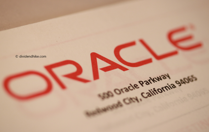 Oracle hikes dividend by 33.3%